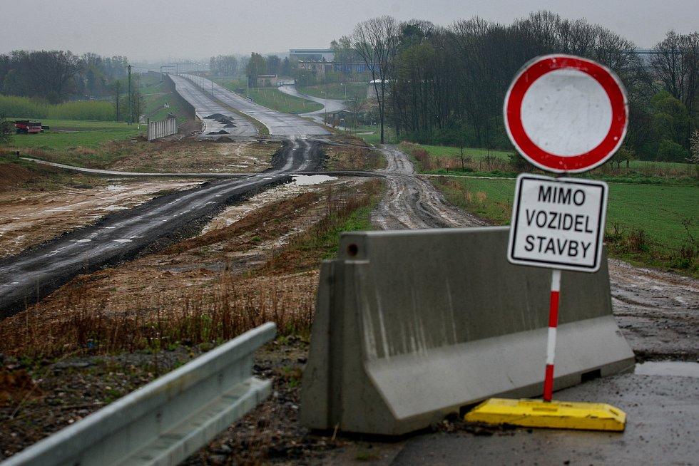 Zablokovaná stavba Prodloužené Rudné. Ilustrační foto.