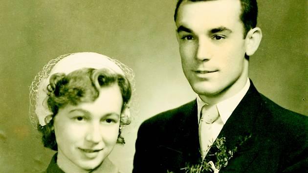Svatbu měli manželé Sedlákovi 26. prosince 1952.