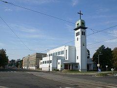 Kostel svatého Josefa Dělníka ve Vítkovické ulici. Ilustrační foto.