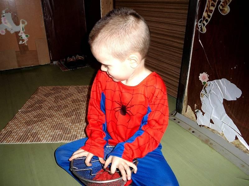 "Ema Karasová, 5 let, Karviná ""Můj bráška Spiderman"""