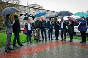 Debata v rámci projektu Deník-bus s volebními lídry za Moravskoslezský kraj.