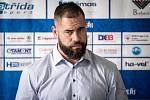 Hokejový tým HC Vítkovice Ridera představil nového hráče Romana Poláka, 15. června 2020 v Klimkovicích.