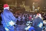 Akce Deníku Česko zpívá koledy na Masarykově náměstí v Ostravě, středa 12. prosince 2018.
