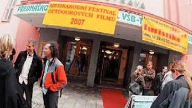 Také tentokrát bude v kině Vesmír projekce ostravské části mezinárodního festivalu outdoorových filmů.