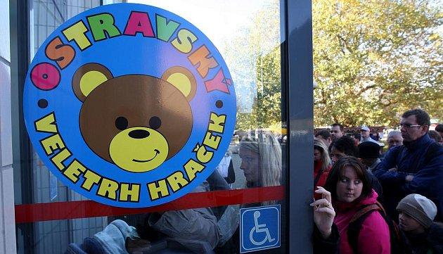Prodejní výstava Veletrh hraček byla ve čtvrtek zahájena na ostravském výstavišti Černá louka.