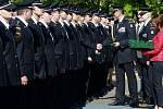 Slavnostní ocenění hasičů v Ostravě-Porubě.