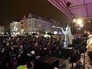 Česko zpívá koledy v Ostravě, Masarykovo náměstí