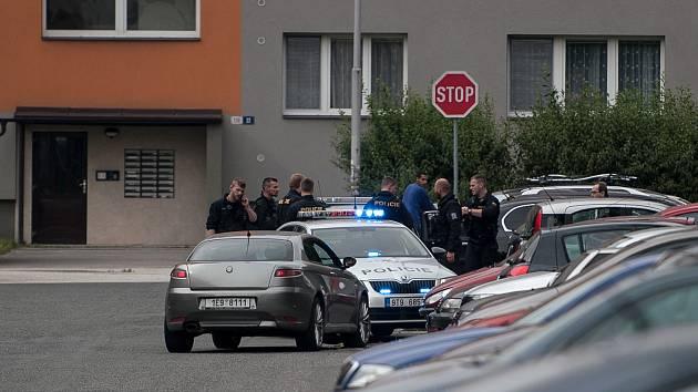 Dopadení ujíždějícího řidiče policisty. Ilustrační foto.