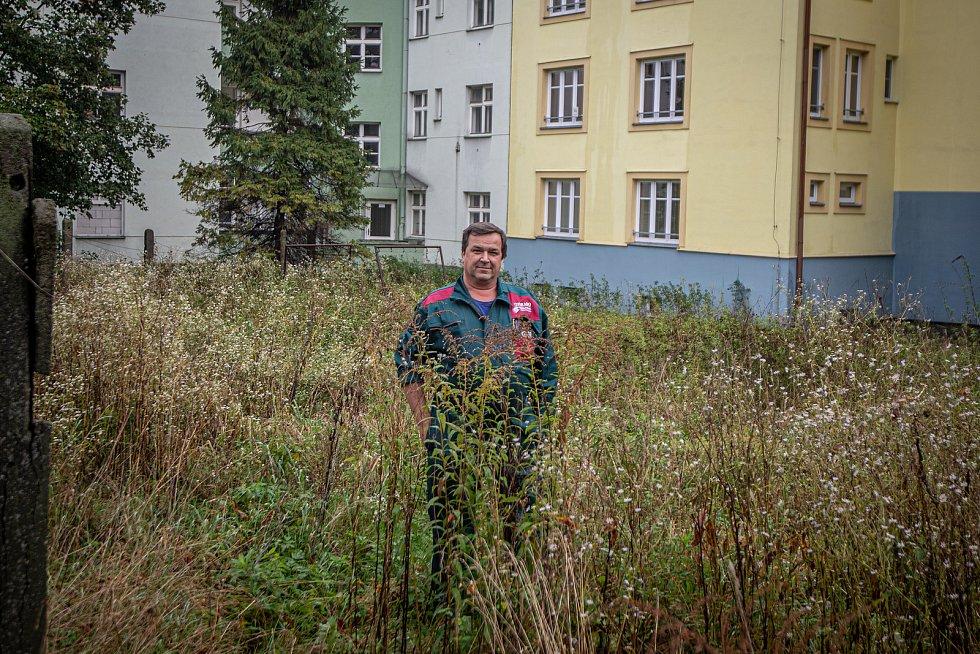 Dům na ulici Sládkova a Místecká poblíž střelnice Corrado, 12. října 2020 v Ostravě. Podnikatel Maxmilián Šimek.