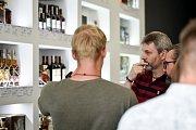 Nově otevřená alkotéka Spirits original na ulici 28. října v Ostravě.