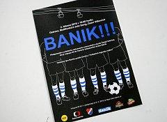 Tisková konference k dokumentu České televize o ostravském fotbalovém klubu Baník Ostrava.