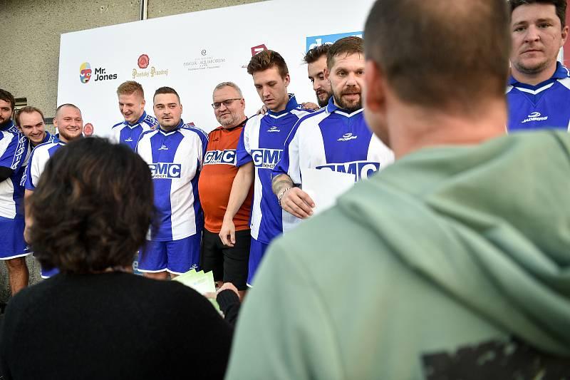 Zaměstnanecká liga Deníku, 22. září 2020 v Palkovicích. Tým GMC tech.