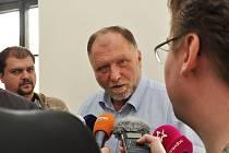 Právní zástupce Baníku Tomáš Sokol.