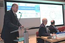 Mirek Topolánek na konferenci