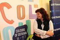 Ředitelka Colours of Ostrava Zlata Holušová.
