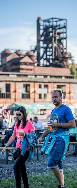 Beerfest vDolní Oblasti Vítkovice.