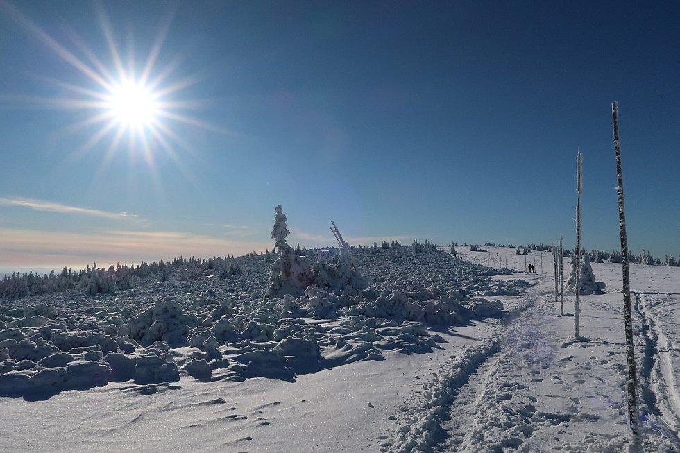 Iva Žídková putuje zimními horami: Hřeben Jeseníků