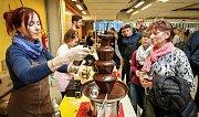 Čokoládový festival na Černé louce v Ostravě.