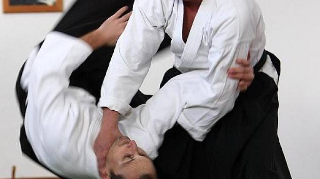 Kamil Kozák vedoucí SKP Aikido Ostrava,IV. dan Aikido