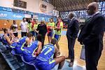 Utkání 4. kola Ženské basketbalová ligy: SBŠ Ostrava - ZVVZ USK Praha, 9. října 2019 v Ostravě.