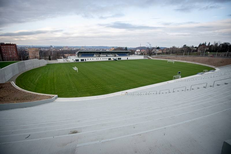 Slavnostní otevření stadionu Bazaly, 2. prosince 2019 v Ostravě.