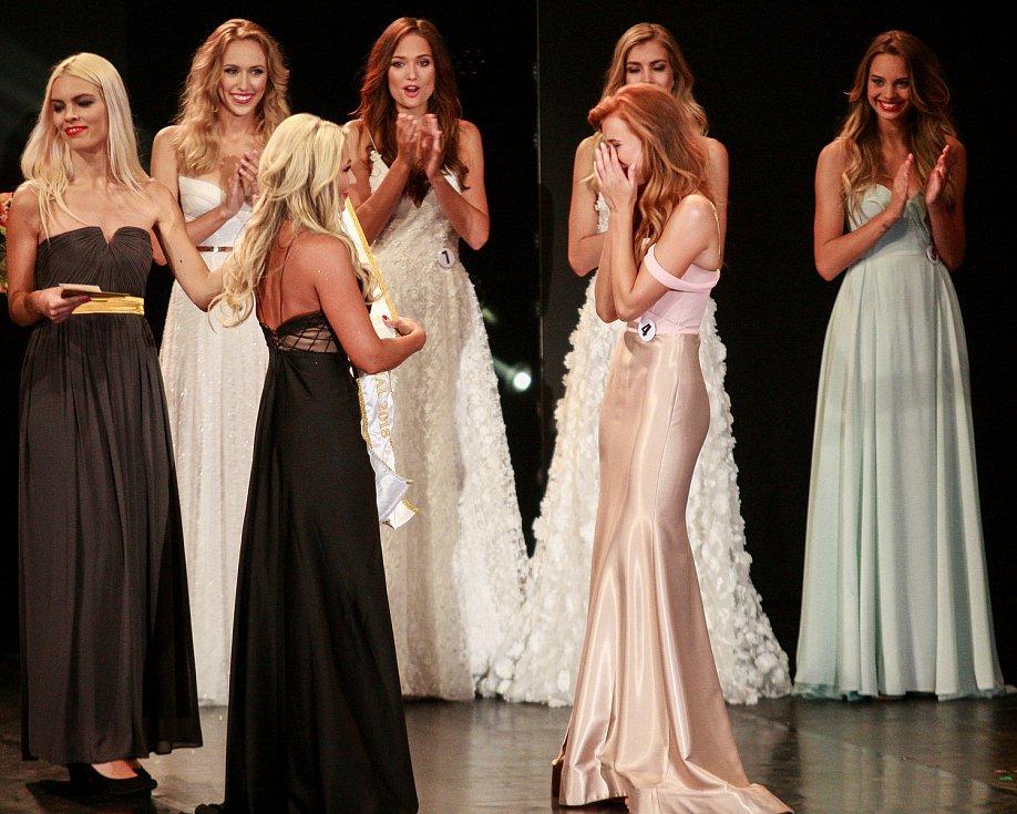 Vyhlášení české Miss 2018 v Gongu.Vyhlášení druhého místa - Jana Šišková