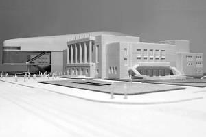 Model koncertní síně, která by měla vzniknout v Domě kultury města Ostravy.