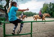 Příměstský tábor s koňmi ve Slezské Ostravě.