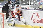 Utkání 28. kola hokejové extraligy: HC Vítkovice Ridera - HC Sparta Praha, 21. prosince 2018 v Ostravě.