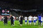 Utkání 22. kola první fotbalové ligy: Sparta Praha - Baník Ostrava, 24. února 2019 v Praze.