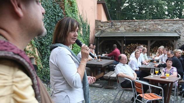 Na Zámku Zábřeh v Ostravě-Zábřehu se ve čtvrtek odpoledne sešly desítky významných podnikatelů z Moravskoslezského kraje na akci, kterou pro ně připravil Deník.