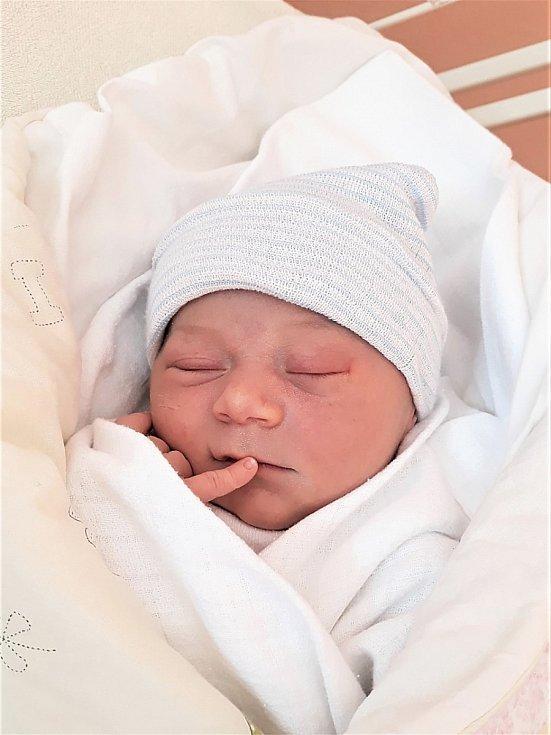 Anna Janovská, Veřovice, narozena 14. února 2021, míra 49 cm, váha 3 700 g. Foto: Ivana Kristková
