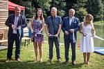 Slavnostní otevření rybníků Pod Bedřiškou v Nové Vsi, 25. srpna 2019 v Ostravě.