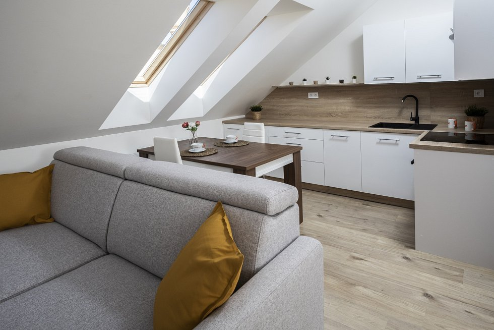 Heimstaden v roce 2021 investuje do svých domů rekordních 1,5 miliardy korun. Ilustrační foto. Půdní vestavby v Ostravě.