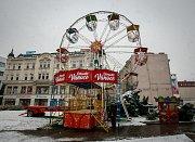 Vídeňské kolo na Masarykově náměstí v centru Ostravy.