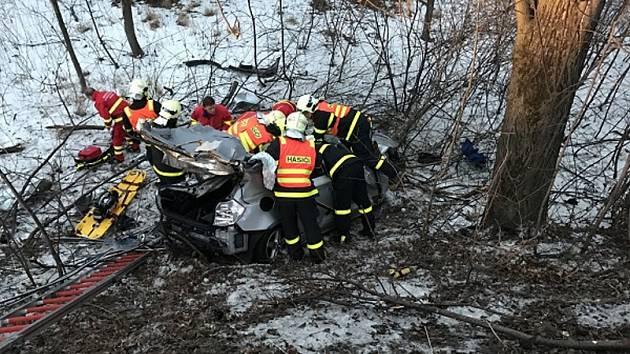 Nehoda v Tošanovicích.