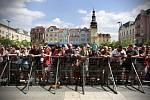 Festival v ulicích 2013. Masarykovo náměstí, koncert kapely Buty