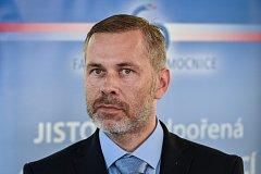 Tisková konference ve Fakultní nemocnici Ostrava (FNO), na snímku (ředitel FNO) Evžen Machytka.