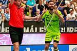 Superfinále Tipsport superligy mezi Vítkovicemi a Mladou BoleslavíRozhodčí, diskuse