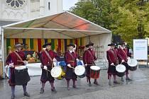 Bubeníci. Svatováclavský jarmark v Ostravě, 28. září 2020.