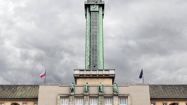 Radnice města Ostravy.