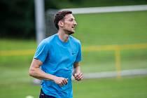 Fotbalisté SFC Opava se  s útočníkem Aston Villy Liborem Kozákem a také Ondřejem Čelůstkou připravují na soustředění v Jakubčovicích.