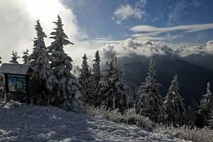 Beskydy v zimě. Ilustrační foto.