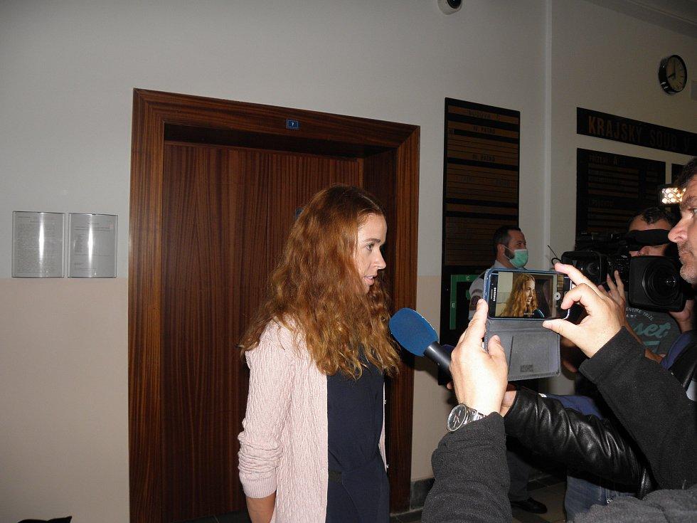 S podstatou obžaloby novináře seznámila mluvčí krajského soudu Klára Krystynová.