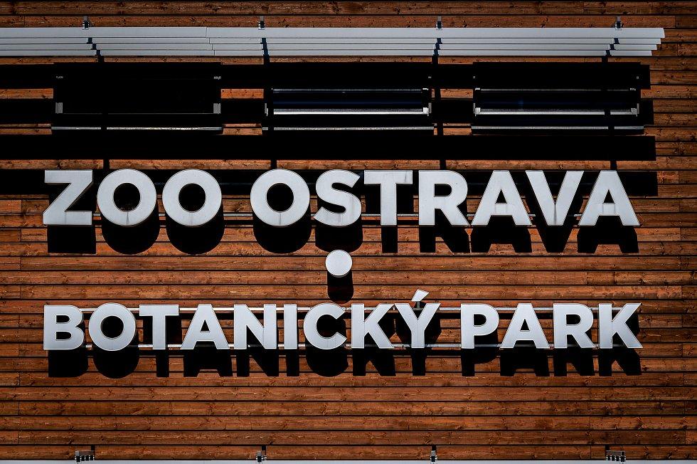 Vstupní budova do ZOO Ostrava, 27. dubna 2020 v Ostravě.