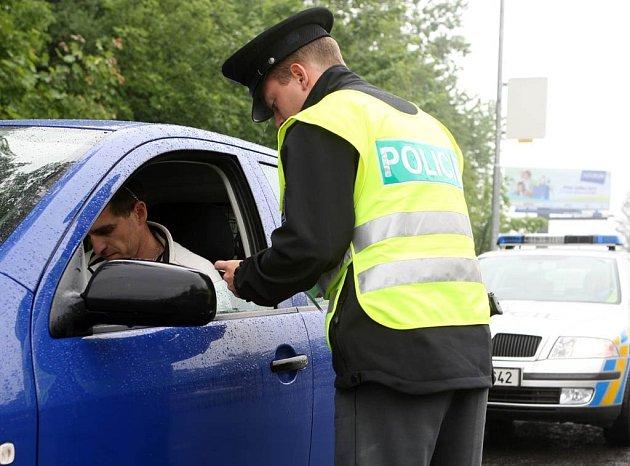 Policejní razie v Ostravě