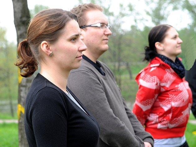 VĚRA CIHLÁŘOVÁ s dalšími Patrioty Moravskoslezského kraje.