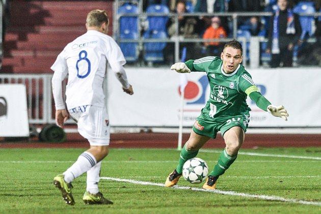 II. liga, 15. kolo: Baník Ostrava - Sigma Olomouc 1:0