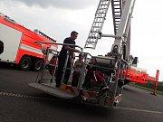 Den požární bezpečnosti v Nošovicích.