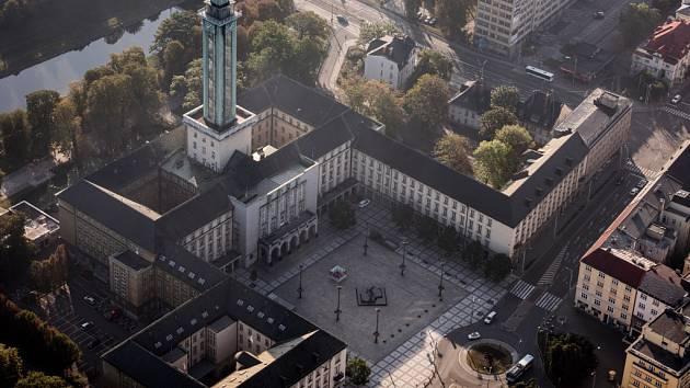 Ostravská radnice. Ilustrační foto.